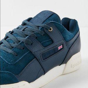 7374e468c33667 Reebok Shoes - Reebok Workout Plus Suede Sneaker